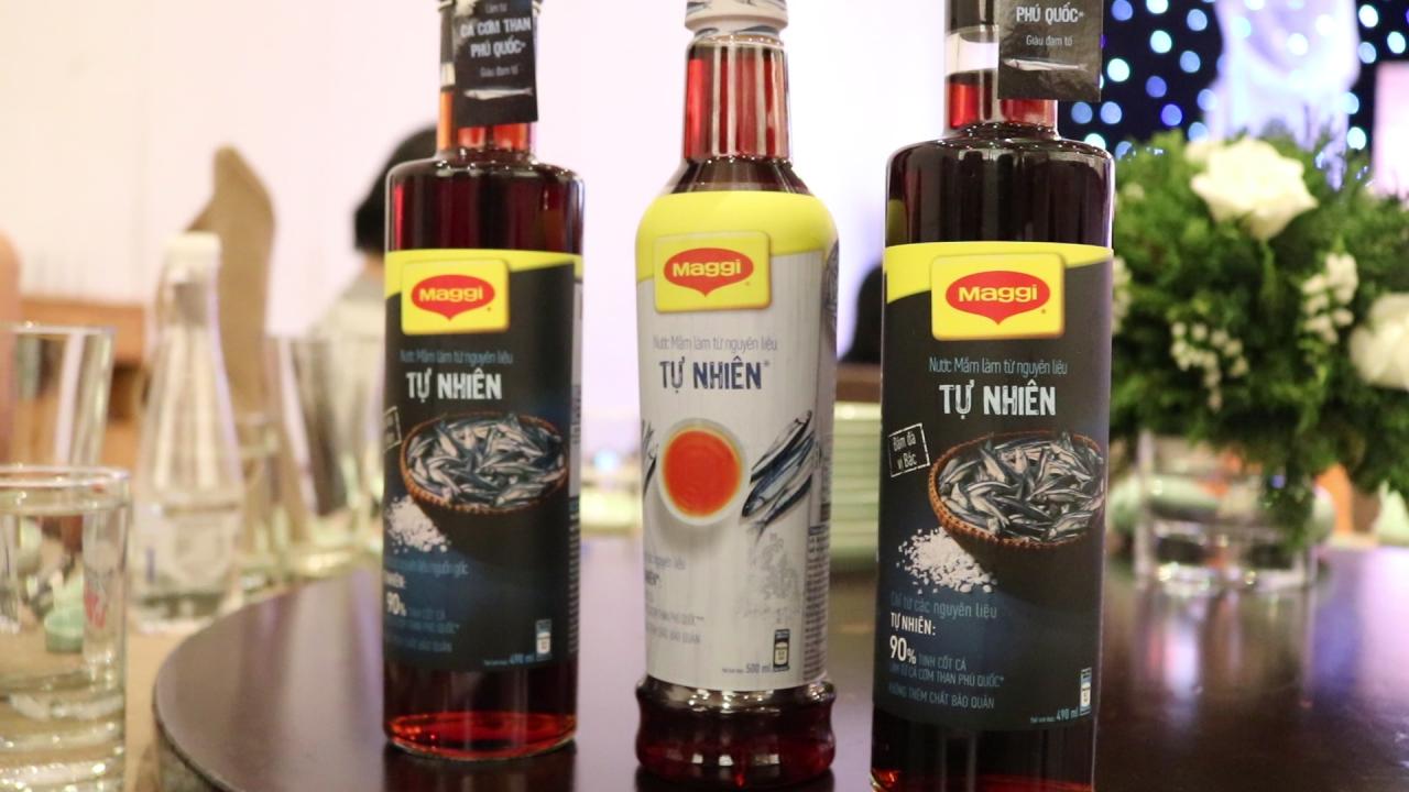 Nestlé Việt Nam ra mắt nước mắm Maggi với 2 hương vị Bắc – Nam