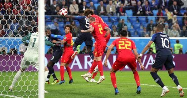 World Cup 2018: Thư hùng tại Krestovsky, Pháp vượt qua Bỉ tiến vào chung kết