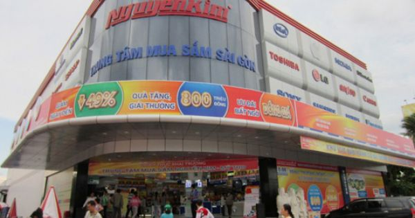 Cục thuế TPHCM cưỡng chế nợ thuế của điện máy Nguyễn Kim