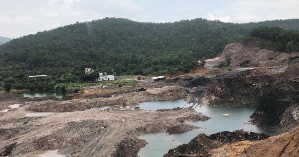 Thu hồi hàng loạt giấy phép khai thác khoáng sản tỉnh Hòa Bình