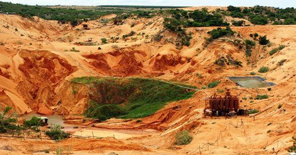 Bình Thuận: Dự án khai thác Titan đã có kết luận