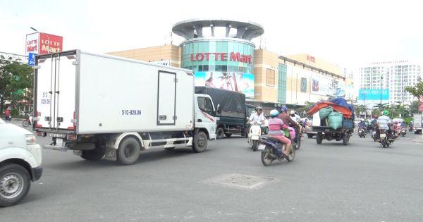 TPHCM: Hạn chế ô tô tải lưu thông trong khu vực nội đô thành phố