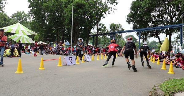 TP HCM: Giới trẻ yêu môn trượt patin hội ngộ, tranh tài thi đấu