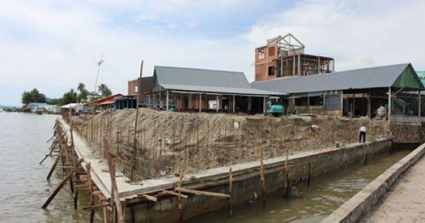 Phú Quốc: Xây nhà trái phép khi đang bị thanh tra đất đai