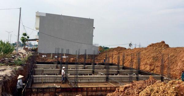 """Sau lệnh kiểm tra, """"siêu"""" dự án ở Vĩnh Phúc vẫn thi công"""
