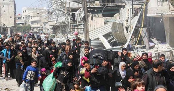 Syria: Người tị nạn lần lượt hồi hương về Đông Ghouta