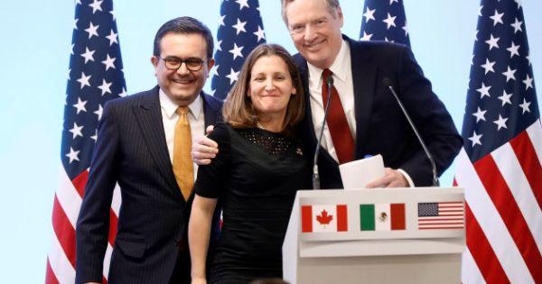 Canada và Mexico bày tỏ mong muốn duy trì NAFTA 3 bên