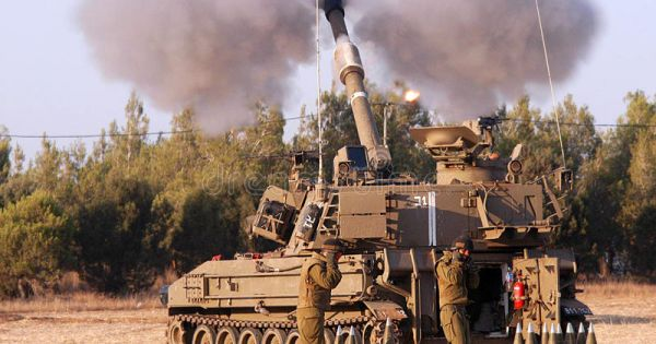 Israel không kích trả đũa Syria pháo kích vào cao nguyên Golan