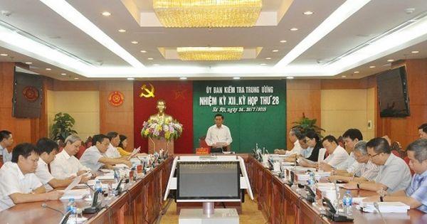 Đề nghị Bộ Chính trị kỷ luật Thứ trưởng Bộ Công an Bùi Văn Thành
