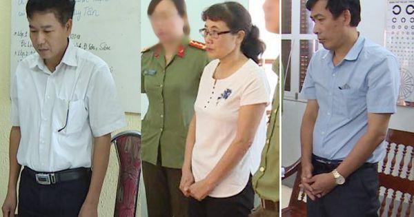 Điểm báo 1/08/2018: Phó Giám đốc Sở Giáo dục và Đào tạo Sơn La bị khởi tố trong vụ gian lận điểm thi