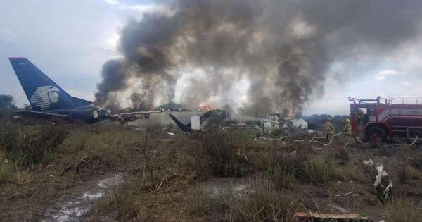 Rơi máy bay ở Mexico, hành khách sống sót thần kỳ