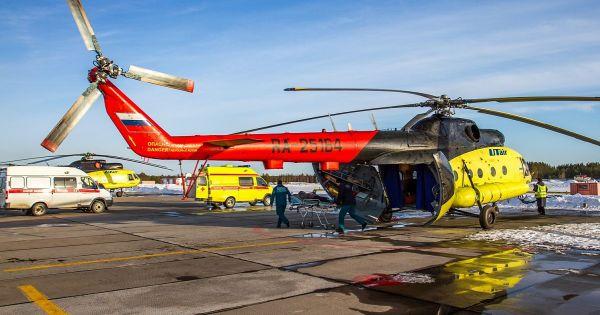 Rơi trực thăng Mi-8 tại Nga, toàn bộ hành khách thiệt mạng