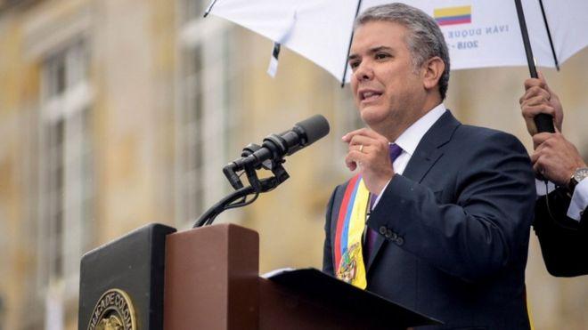 Colombia: Tân Tổng thống tuyên thệ nhậm chức