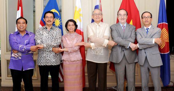 Lễ kỷ niệm 51 năm thành lập ASEAN tại Mexico