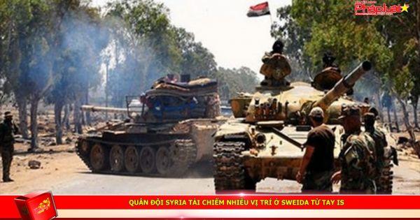 Quân đội Syria tái chiếm nhiều vị trí ở Sweida từ tay IS