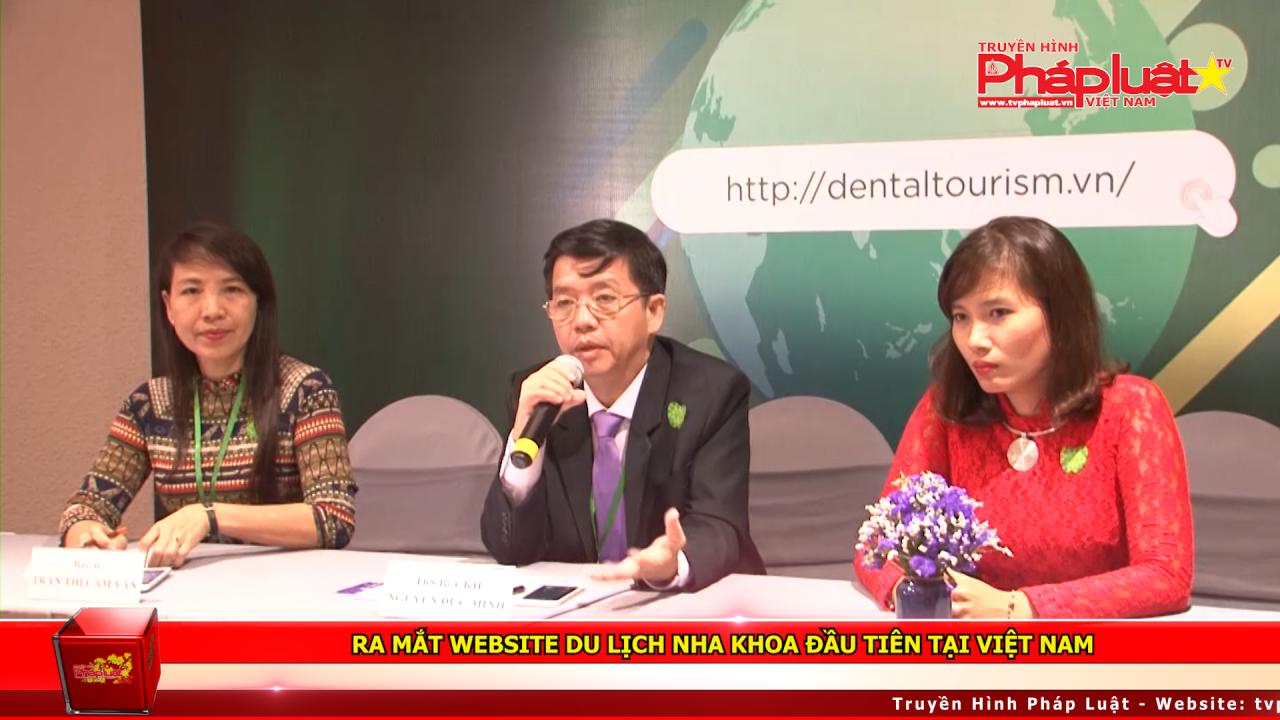 Ra mắt Website Du lịch Nha khoa đầu tiên tại Việt Nam