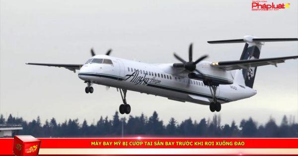 Máy bay Mỹ bị cướp tại sân bay trước khi rơi xuống đảo