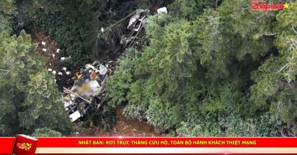 Nhật Bản: Rơi trực thăng cứu hộ, toàn bộ hành khách thiệt mạng