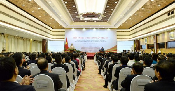 Hà Nội: Khai mạc Hội nghị Ngoại giao toàn quốc lần thứ 30