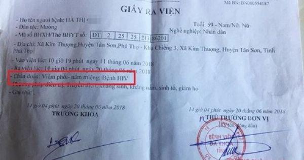 Phú Thọ: Nghi vấn bác sĩ dùng chung kim tiêm làm lây HIV