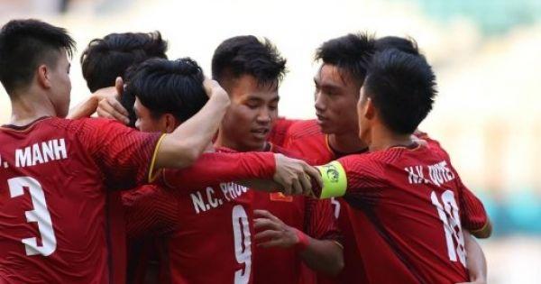 ASIAD 2018: Đả bại Pakistan, Olympic Việt Nam ra quân thuận lợi