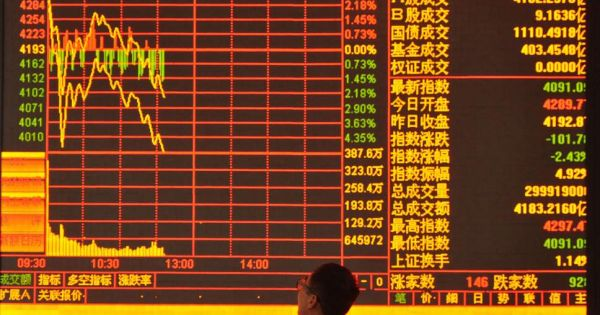Thị trường chứng khoán châu Á sụt giảm