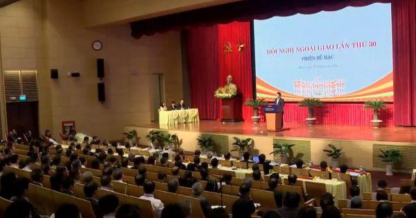 Bế mạc Hội nghị Ngoại giao lần thứ 30