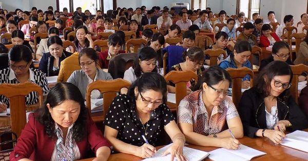 Bộ Giáo dục-Đào tạo: Nơi nào tuyển giáo viên sai phải chịu trách nhiệm