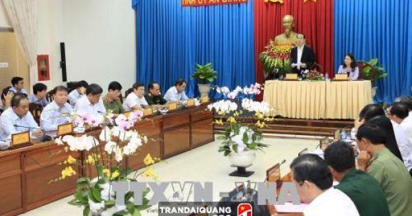 Điểm báo ngày 20/08/2018: Chủ tịch nước Trần Đại Quang thăm và làm việc tại An Giang