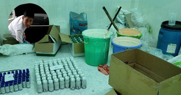 Khởi tố chủ cơ sở sản xuất thuốc bảo vệ thực vật giả