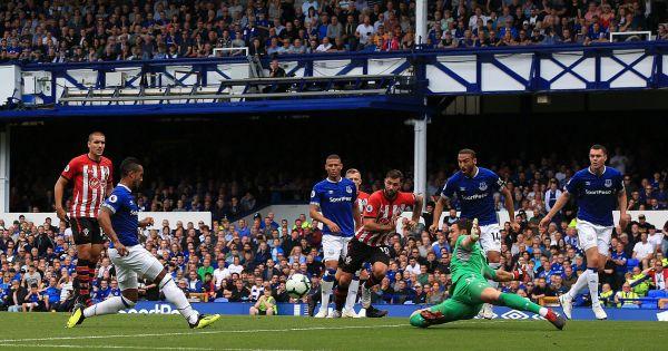 Tân binh trẻ tỏa sáng, Everton thắng sát nút Southampton