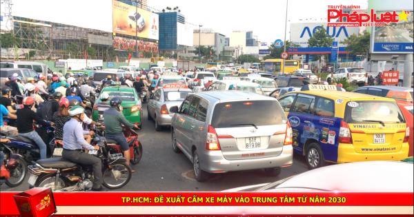 TP HCM: Đề xuất cấm xe máy vào trung tâm từ năm 2030