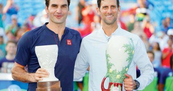 Vô địch Cincinnati Masters, Novak Djokovic đi vào lịch sử