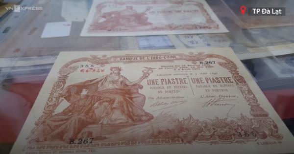 Bộ sưu tập tiền xưa của chàng trai ở Đà Lạt