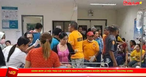 Đánh bom lễ hội trái cây ở miền Nam Philippines khiến nhiều người thương vong