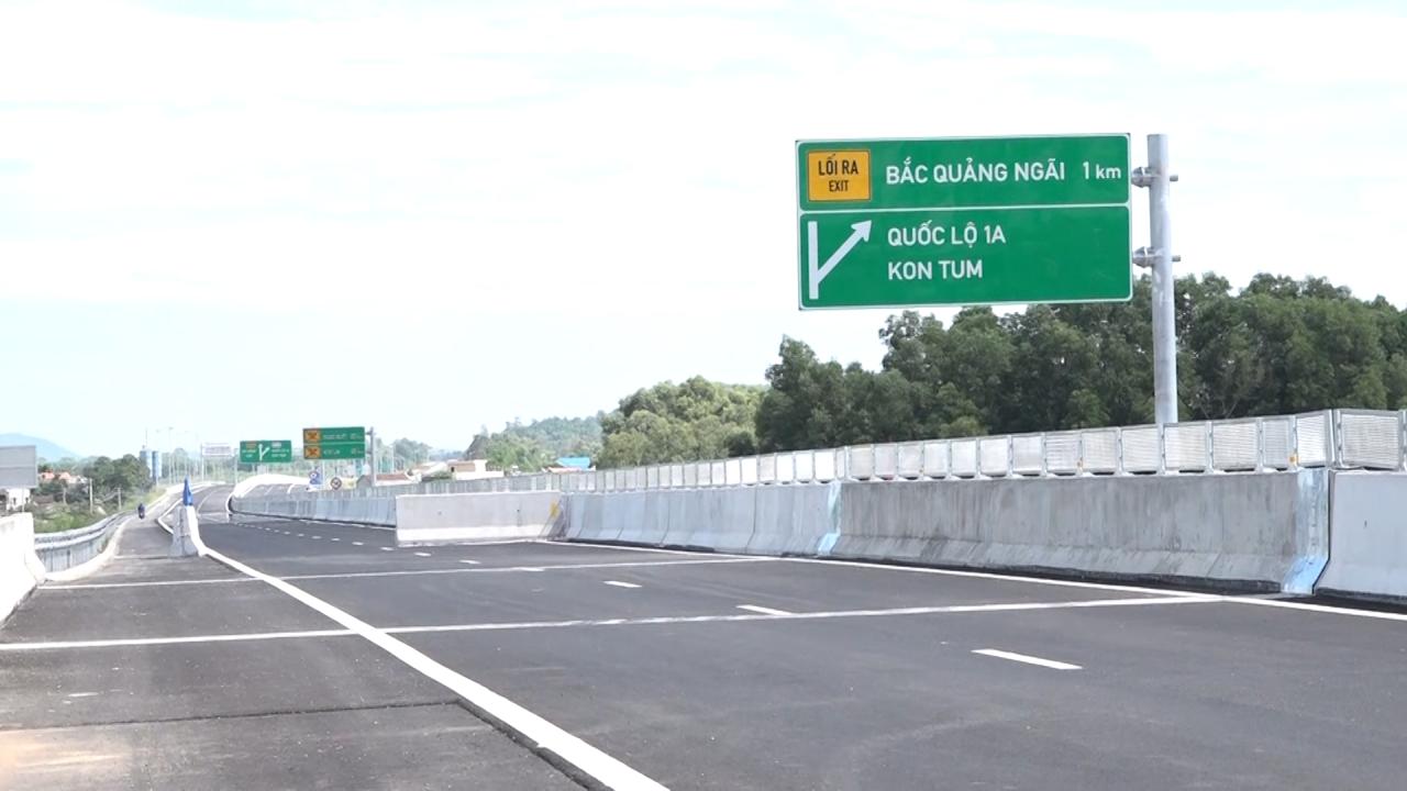 Ngày 2-9 chính thức thông xe tuyến cao tốc Đà Nẵng – Quảng Ngãi