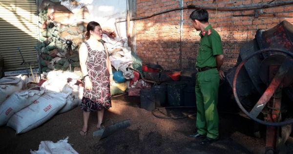 Đắk Nông: Vụ cà phê trộn lõi pin, truy tố 5 đối tượng