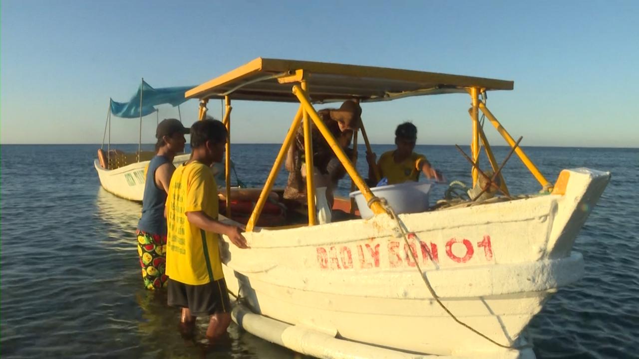 Dân đảo Lý Sơn làm du lịch xanh