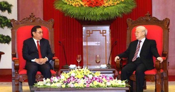 Điểm báo ngày 05/09/2018:Tổng Bí thư tiếp Đoàn Ủy ban Trung ương Mặt trận Lào Xây dựng đất nước