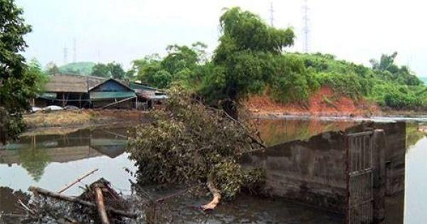 Lào Cai: Vỡ đập hồ chứa, người dân thiệt hại hàng trăm triệu đồng