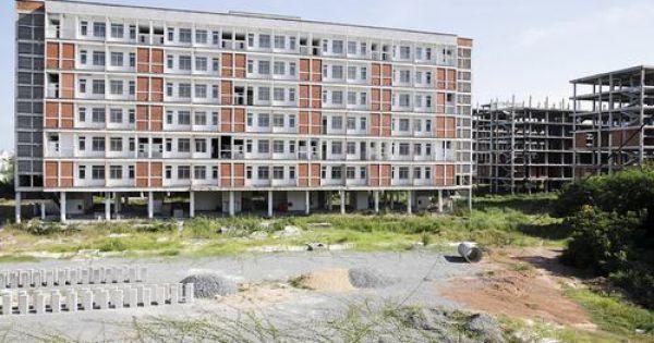 Đà Nẵng: Bỏ hoang công trình ký túc xá 700 tỉ đồng