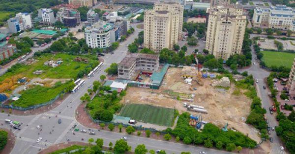 UBND TP Hà Nội đề nghị thu hồi 55 dự án vi phạm Luật Đất đai