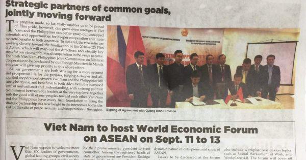 42 năm kỷ niệm ngày lập quan hệ Ngoại giao Việt Nam - Philippines