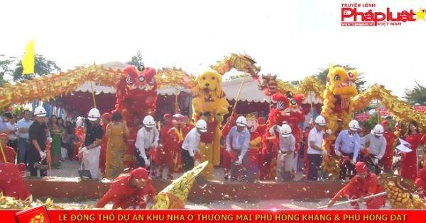 Lễ động thổ dự án khu nhà ở thương mại Phú Hồng Khang và Phú Hồng Đạt
