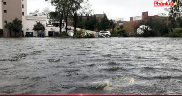 Bão Florence đổ bộ bờ Đông nước Mỹ, nhiều người sơ tán