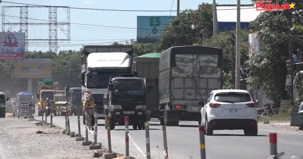 Quảng Ngãi: Bức xúc nhà thầu chậm thi công dự án nâng cấp, mở rộng quốc lộ 1