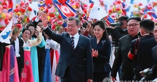Thượng đỉnh liên Triều lần 3: Tổng thống Hàn Quốc đã đến Bình Nhưỡng