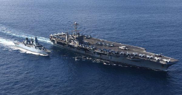 Nhóm tác chiến tàu sân bay USS Harry Truman hướng về Địa Trung Hải