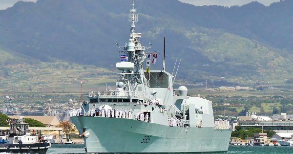 Tàu hải quân Canada sẽ thăm Đà Nẵng
