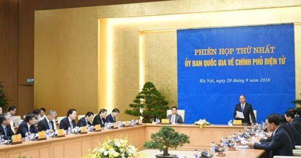 Thủ tướng chỉ ra lý do cản trở triển khai Chính phủ điện tử